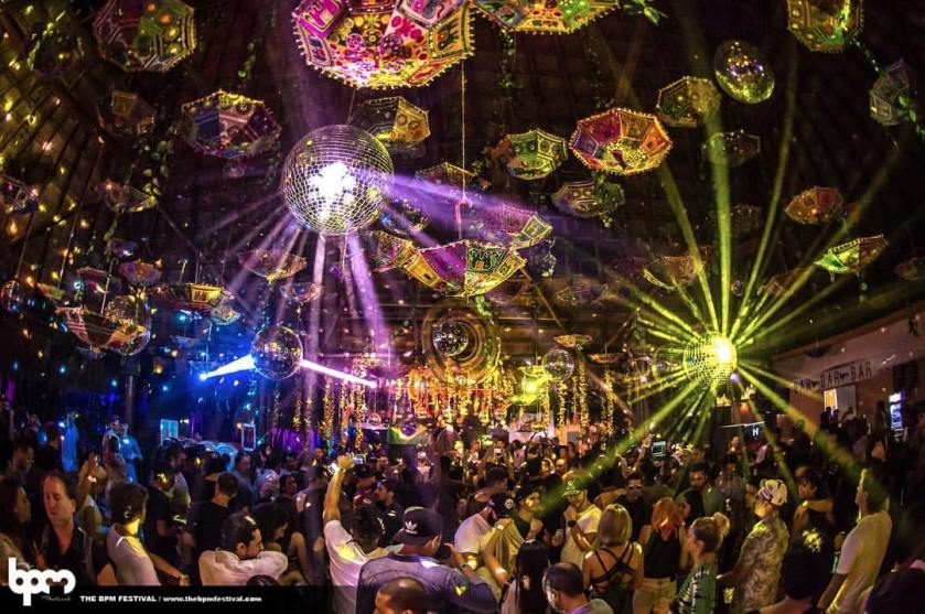 The Jungle at BPM Festival, scene of the alleged second shooting.