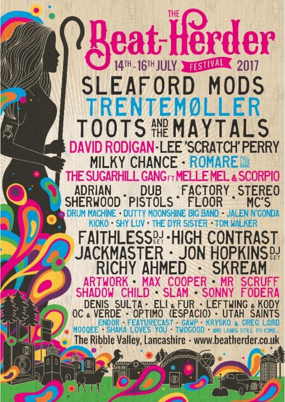 Beat-Herder Festival 2017 Line-Up