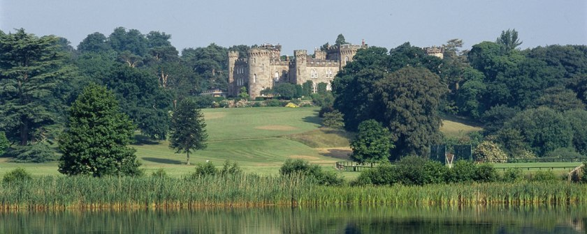 Cholmondeley Castle (image from http://www.cholmondeleycastle.com)